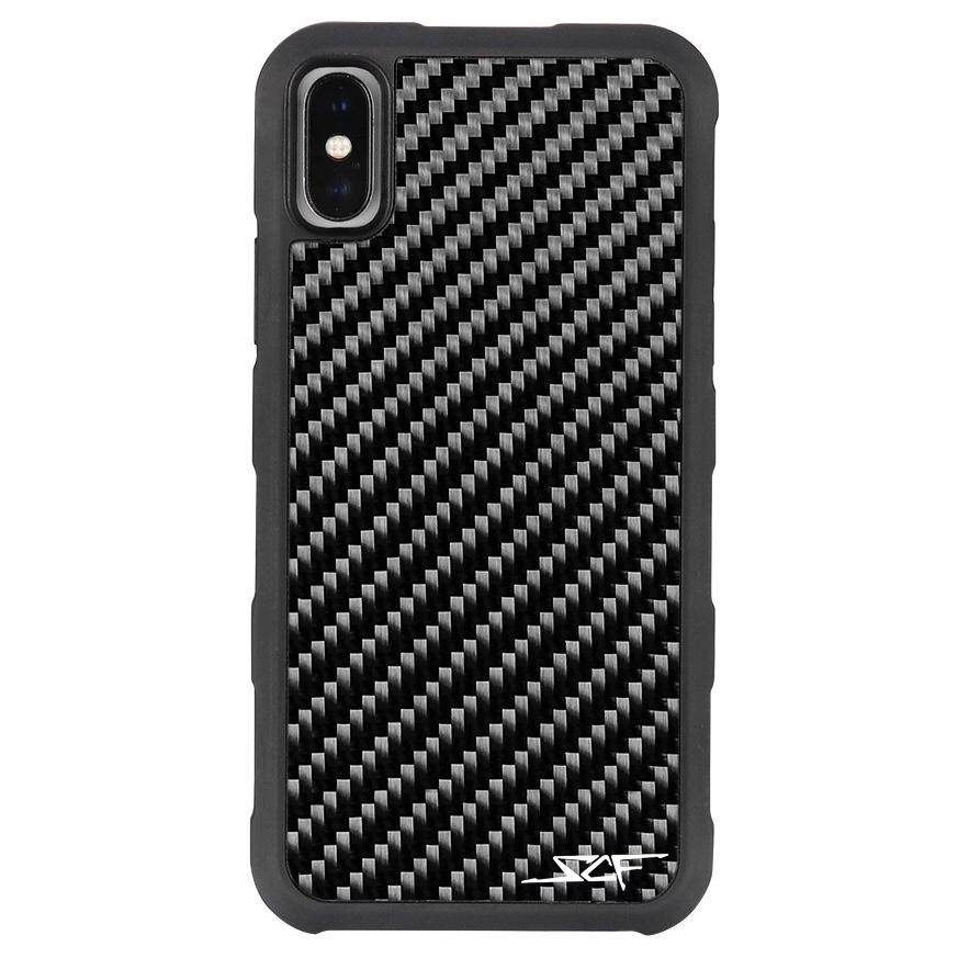 iPhone X & XS Real Carbon Fiber Case | ARMOR Series