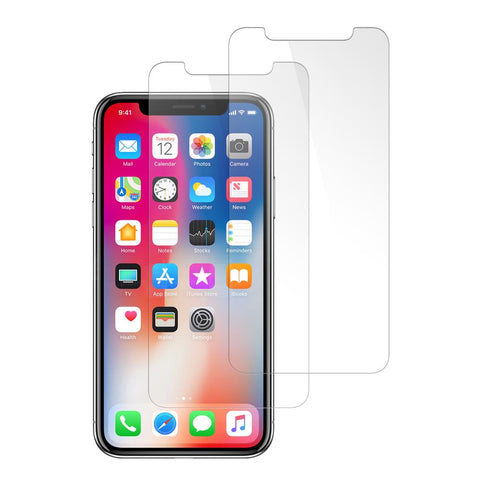 (iPhone X & XS) Shatterproof Screen Guard (2 Pack)