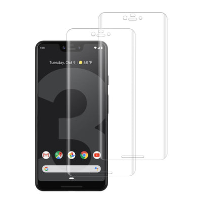 (PIXEL 3 XL) Shatterproof 3D Curve Screen Guard (2 Pack)