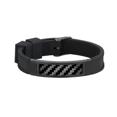 Real Carbon Fiber Bracelet (BLACK)