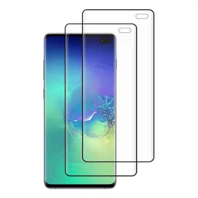 (S10+) Shatterproof 3D Curve Screen Guard (2 Pack)