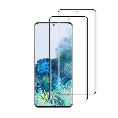 (S20+) Shatterproof 3D Curve Screen Guard (2 Pack)