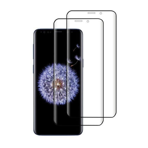 (S9) Shatterproof 3D Curve Screen Guard (2 Pack)