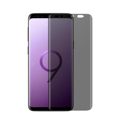 (S9+) Shatterproof 3D Curve Screen Guard (Privacy Edition)