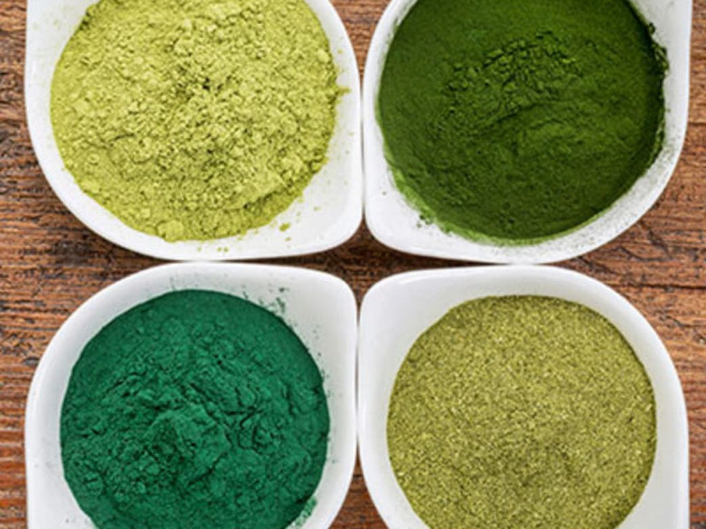 5 Green Food Supplements