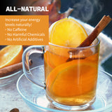 Total Tea's Detox Tea K-Cups Help Increase Energy Naturally With No Caffeine, No Harmful Chemicals & No Artificial Additives