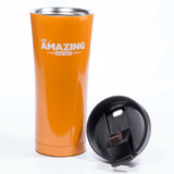 Total Tea Extras Amazing Orange Stainless Steel Tumbler - 17oz