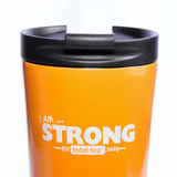 Total Tea Extras Strong Orange Stainless Steel Tumbler - 17oz