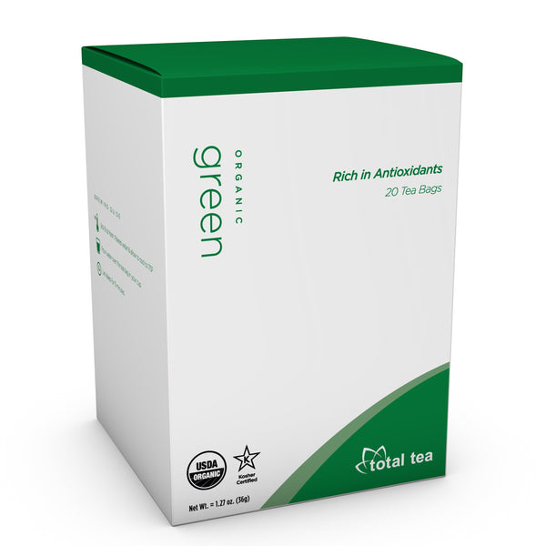 Total Tea Herbal Tea Pure Organic Green Tea Pure Organic Green Tea