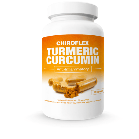 Chiroflex Clinical Strength Turmeric Curcumin Anti-Inflammatory Whey Protein Complex
