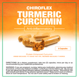 Total Tea Supplements Chiroflex Turmeric Curcumin 12ct Sample Pack