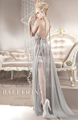Ballerina Hold Ups 123 (White) - Hold Up Stockings - Ballerina - Charm and Lace Boutique