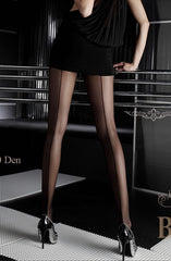 Ballerina Tights 050 (Black Line) - Tights - Ballerina - Charm and Lace Boutique