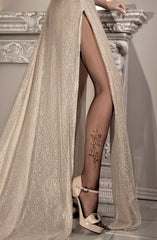 Ballerina Tights 085 (Black) - Tights - Ballerina - Charm and Lace Boutique