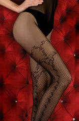 Ballerina Tights 358 (Black) - Tights - Ballerina - Charm and Lace Boutique
