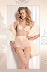 Ballerina Tights 376 (Ivory) - Tights - Ballerina - Charm and Lace Boutique