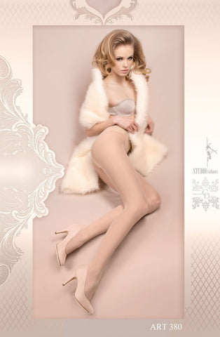 Ballerina Tights 380 (Ivory) - Tights - Ballerina - Charm and Lace Boutique