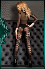 Ballerina Tights 397 (Black) - Tights - Ballerina - Charm and Lace Boutique