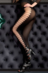 Ballerina Tights 398 (Black) - Tights - Ballerina - Charm and Lace Boutique