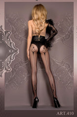 Ballerina Tights 410 (Black) - Tights - Ballerina - Charm and Lace Boutique