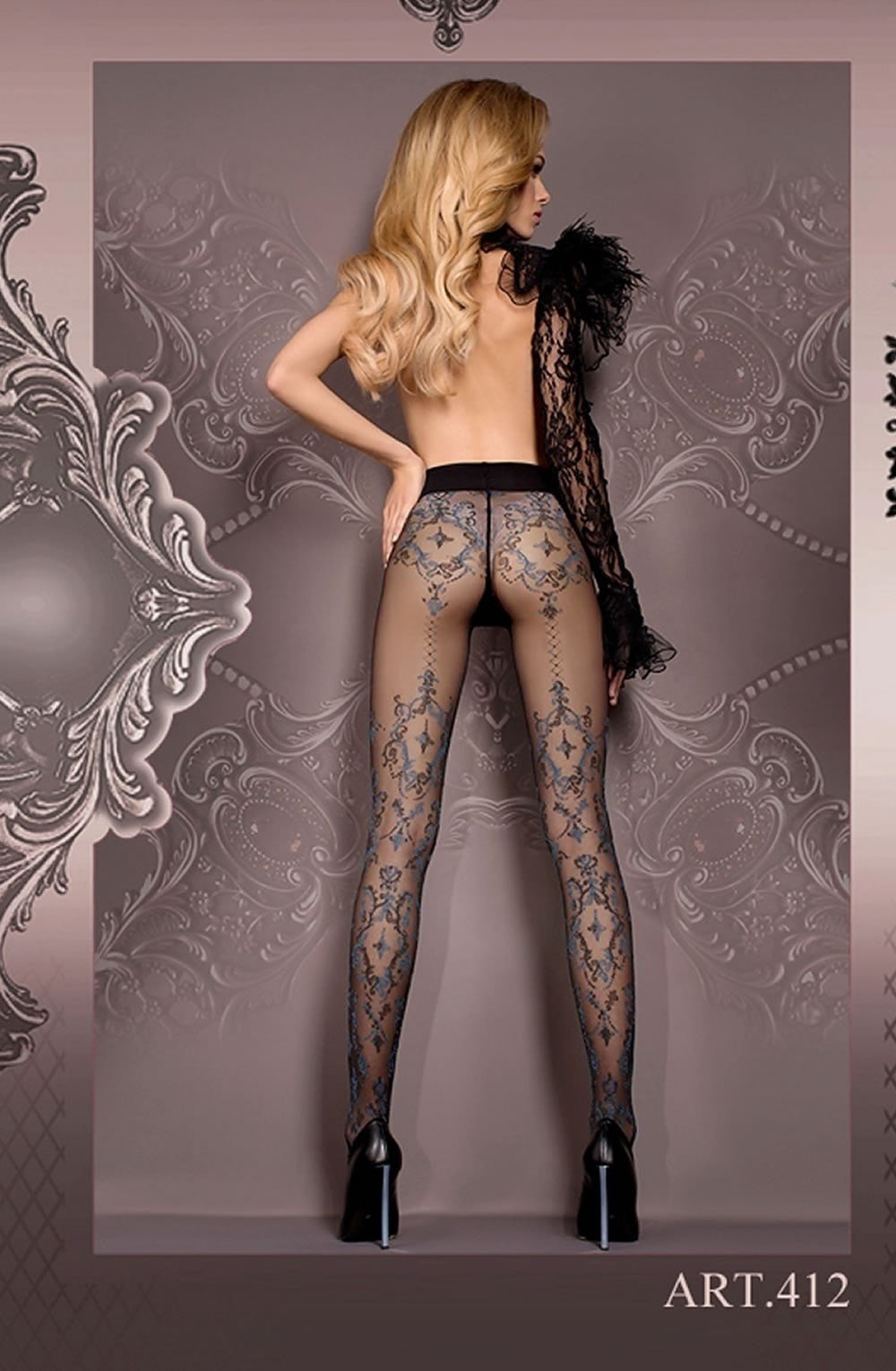 Ballerina Tights 412 - Tights - Ballerina - Charm and Lace Boutique