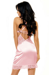 Beauty Night Adelaide Chemise (Pink) - Chemises - Beauty Night - Charm and Lace Boutique