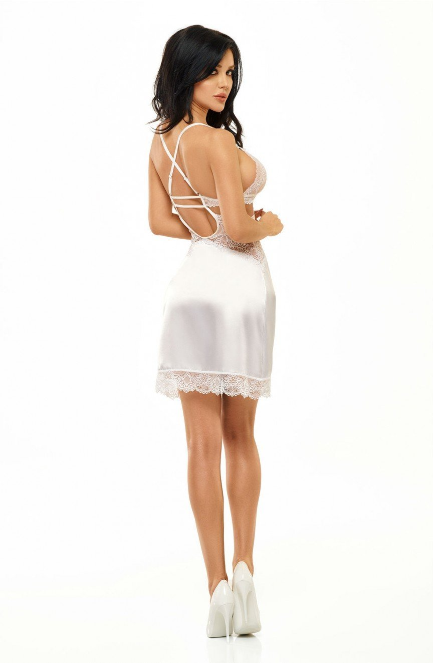 Beauty Night Adelaide Chemise (White) - Chemises - Beauty Night - Charm and Lace Boutique