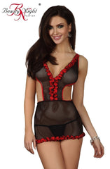 Beauty Night Amy Chemise Set - Chemises - Beauty Night - Charm and Lace Boutique
