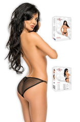 Beauty Night Betty Brief (Black) - Briefs - Beauty Night - Charm and Lace Boutique