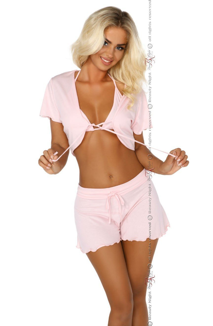 Beauty Night Gloria Set (Pink) - Lingerie Sets - Beauty Night - Charm and Lace Boutique