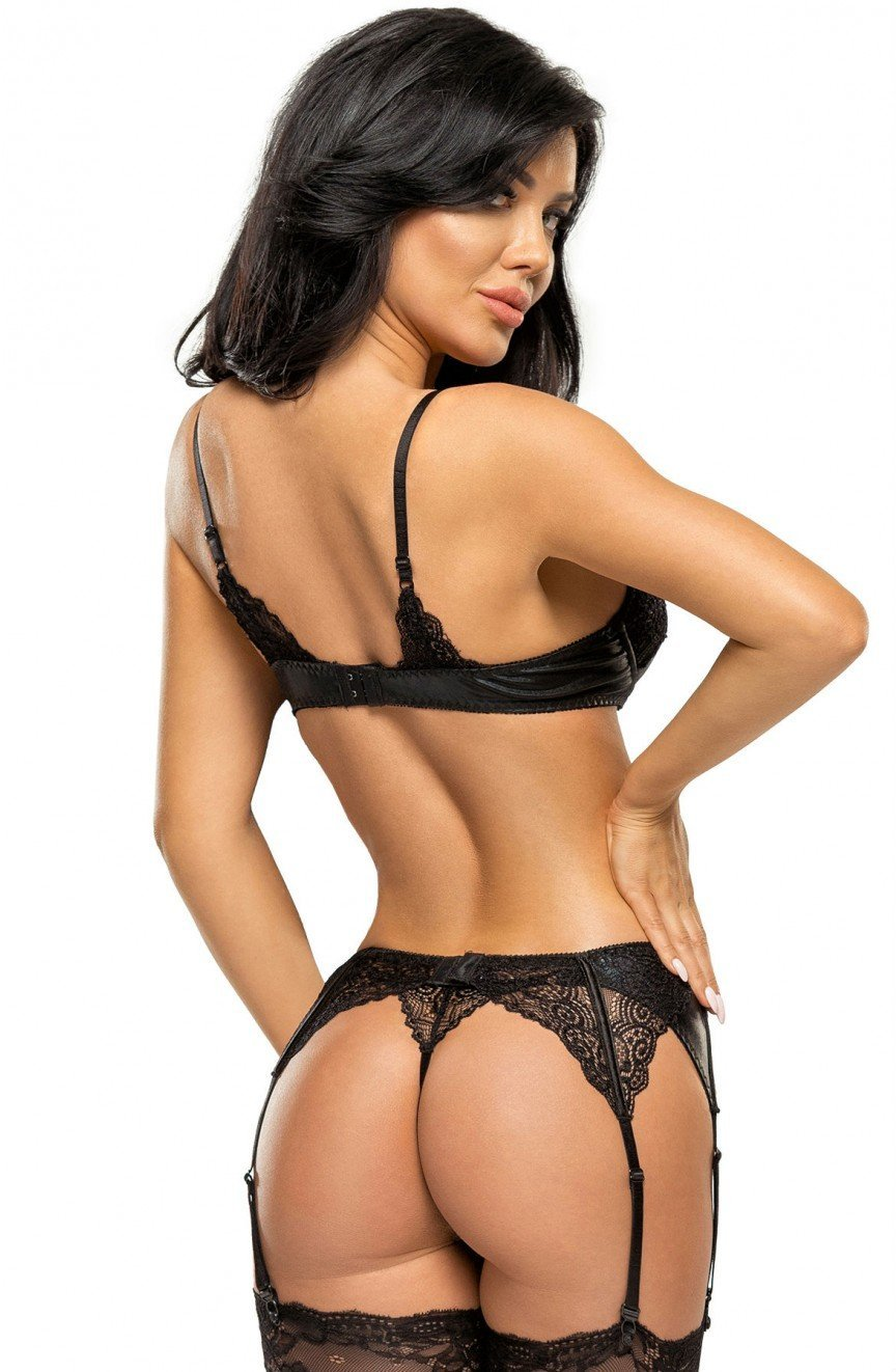 7f83f2581 Beauty Night Marilyn Set (Black) - Lingerie Sets - Beauty Night - Charm and