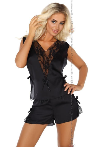 Beauty Night Mellissa Camisole Set (Black) - Camisole Sets - Beauty Night - Charm and Lace Boutique