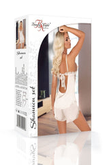 Beauty Night Shannon Set (Vanilla White) - Lingerie Sets - Beauty Night - Charm and Lace Boutique
