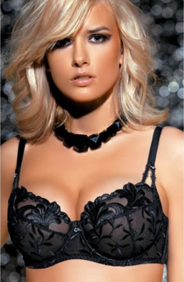 Corin Delfina Bra (Black) - Full Cup Bras - Corin - Charm and Lace Boutique