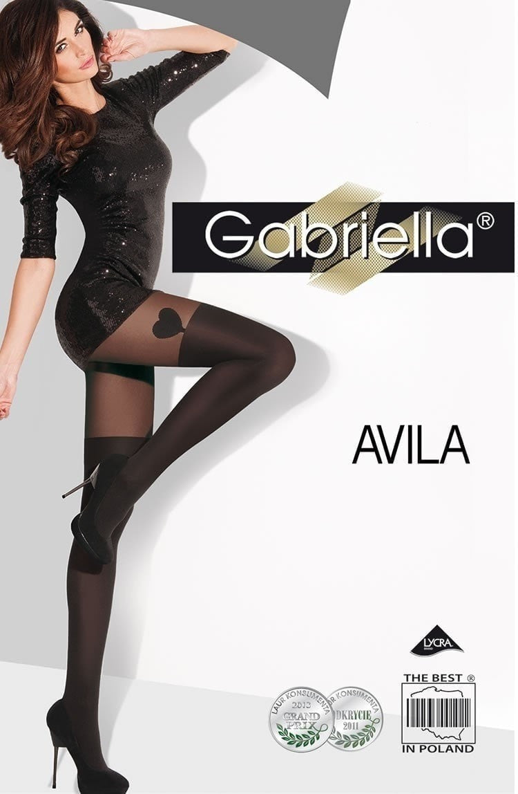 Gabriella Avila Heart Fashion Tights - Tights - Gabriella - Charm and Lace Boutique