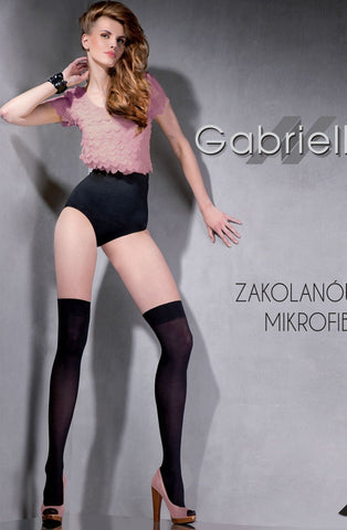 Gabriella Classic Zakol Mircofibre Knee High 151 - Knee Highs - Gabriella - Charm and Lace Boutique