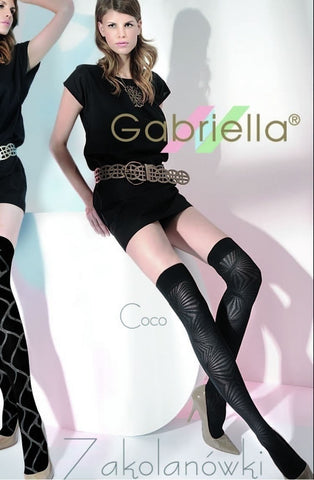 Gabriella Coco Knee Highs - Knee Highs - Gabriella - Charm and Lace Boutique