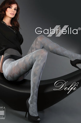 Gabriella Delfi Fantasia Tights - Tights - Gabriella - Charm and Lace Boutique