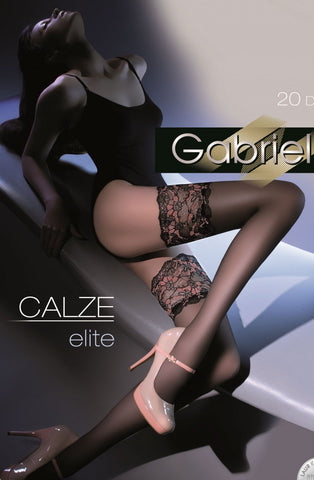 Gabriella Elite Hold Ups 204 - Hold Up Stockings - Gabriella - Charm and Lace Boutique
