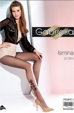 Gabriella Fantasia Ismina Tights 493 - Tights - Gabriella - Charm and Lace Boutique