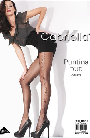 Gabriella Fantasia Putina Due Tights - Tights - Gabriella - Charm and Lace Boutique
