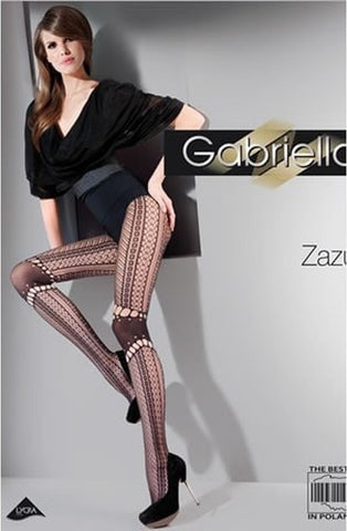 Gabriella Kabaretta Collant Zazu Tights 245 - Tights - Gabriella - Charm and Lace Boutique