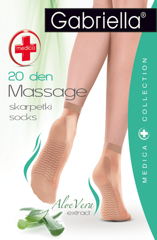 Gabriella Medica Massage Socks (Melisa) - Socks - Gabriella - Charm and Lace Boutique