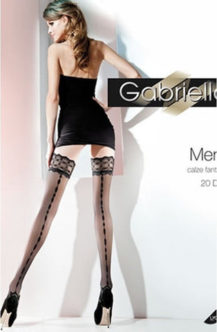 Gabriella Meryl Hold Ups 224 - Hold Up Stockings - Gabriella - Charm and Lace Boutique