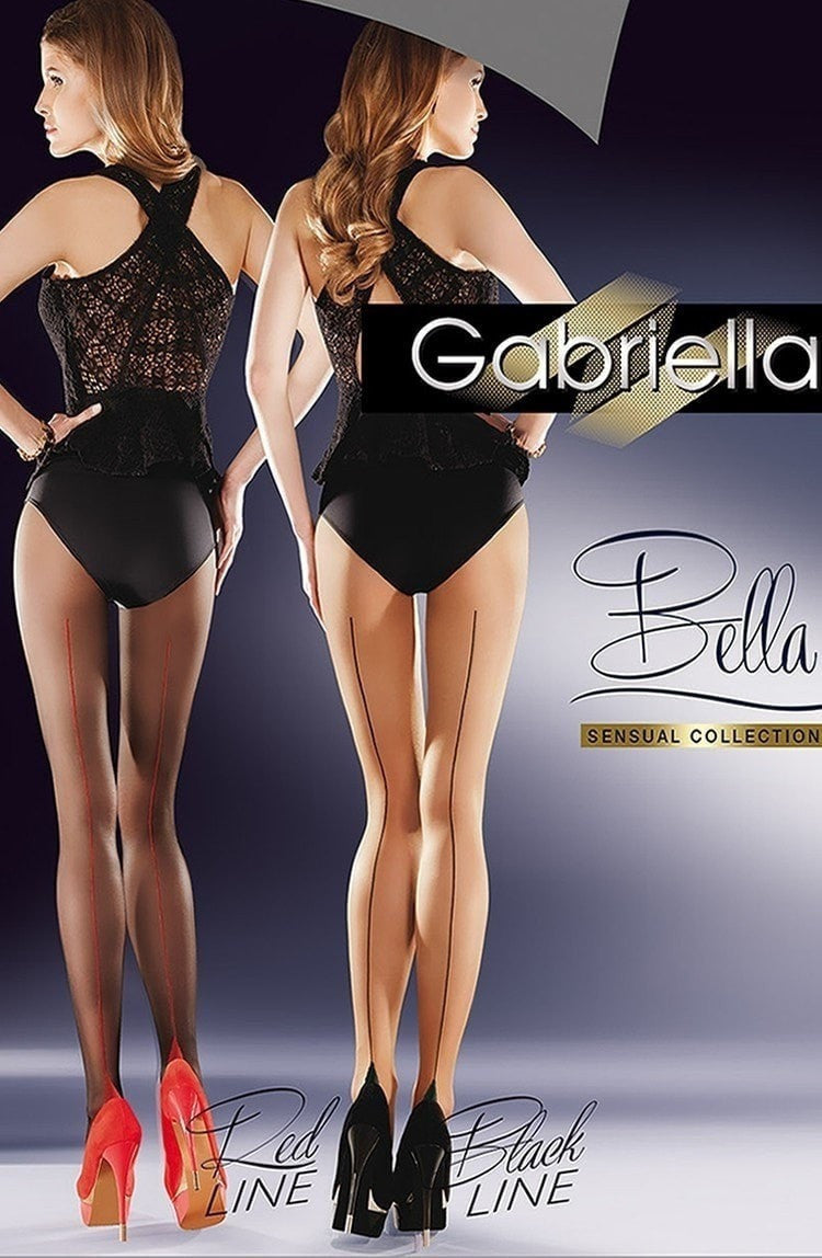 Gabriella Sensual Bella Tights (Black Line) - Tights - Gabriella - Charm and Lace Boutique