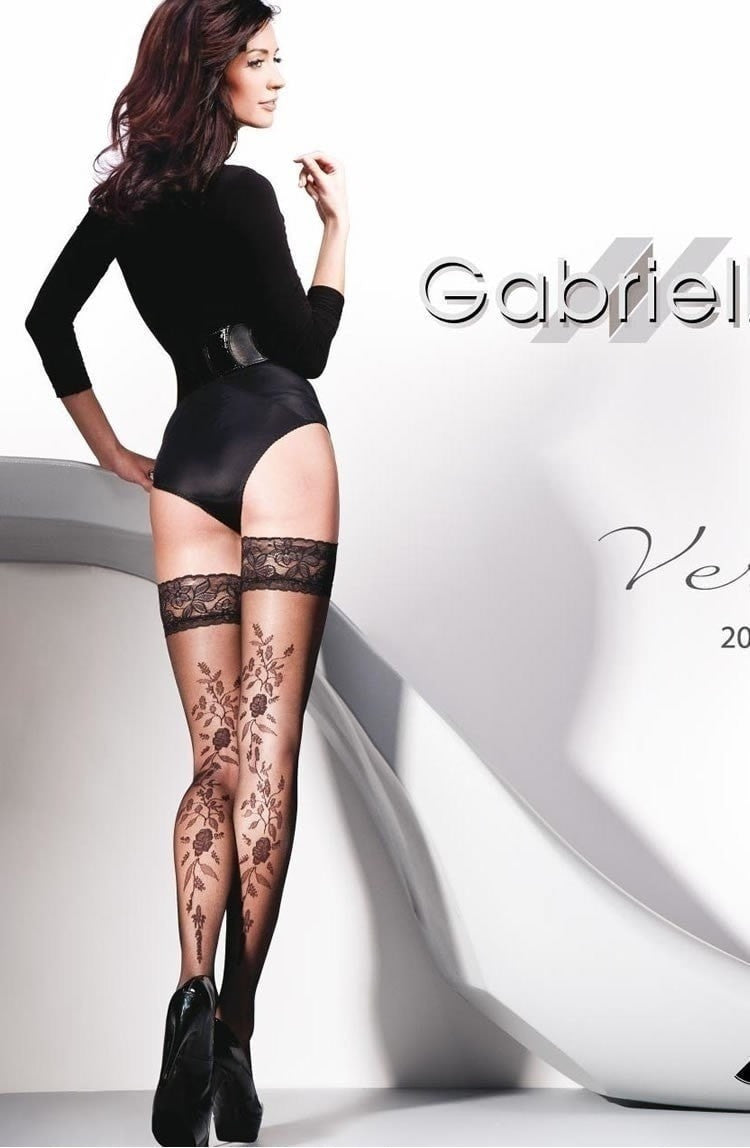 Gabriella Vera Hold Ups - Hold Up Stockings - Gabriella - Charm and Lace Boutique