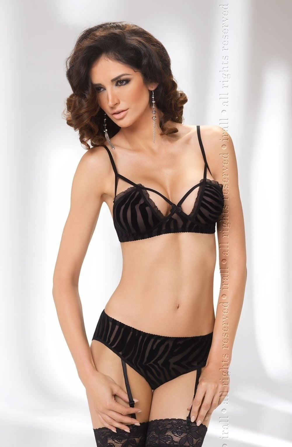 Irall Erotic Cora Set - Lingerie Sets - Irall Erotic - Charm and Lace Boutique