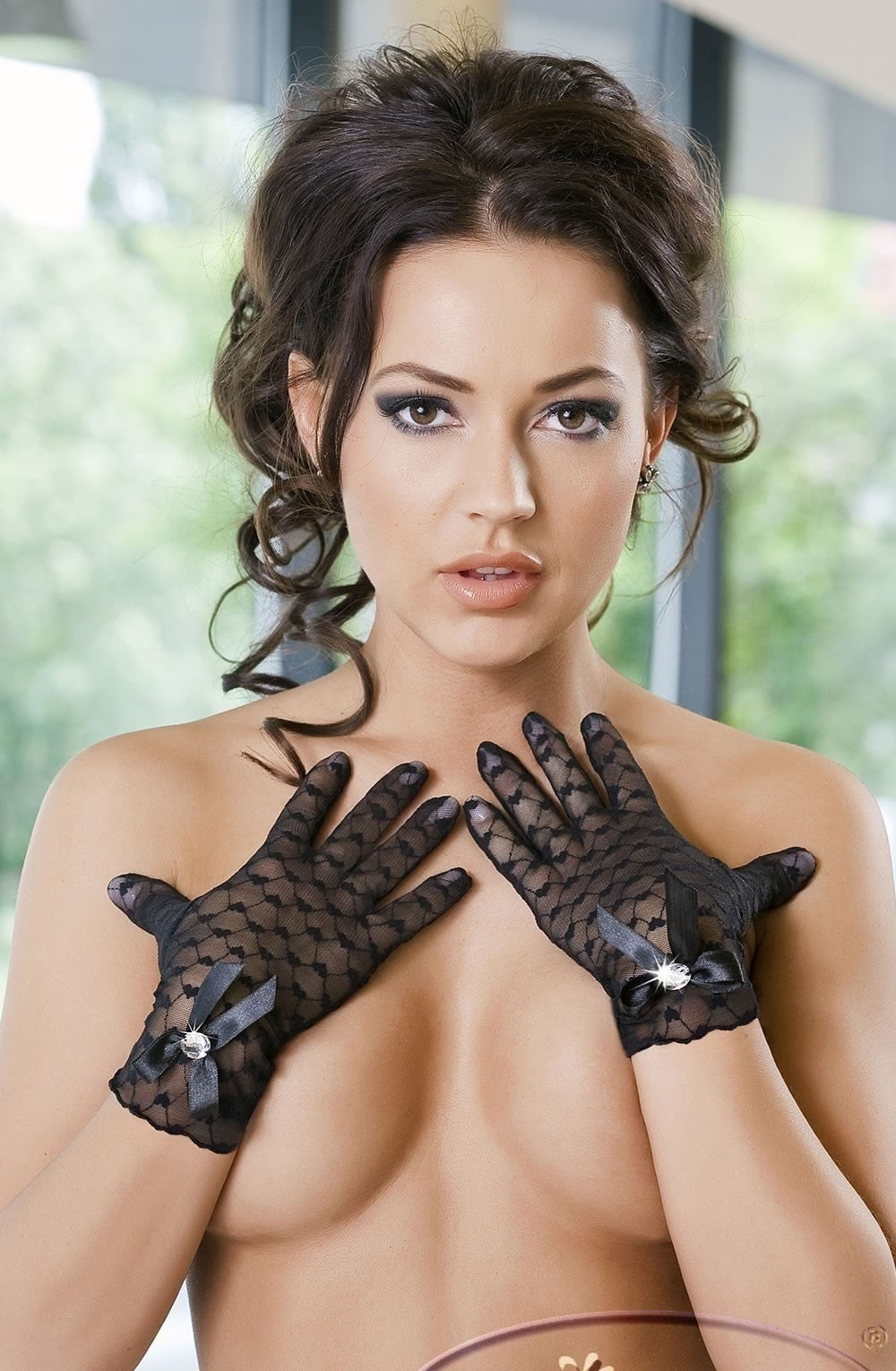 Irall Erotic Miriam Gloves - Gloves - Irall Erotic - Charm and Lace Boutique