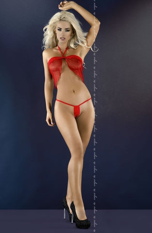 Me Seduce Diana Chemise (Red) - Chemises - Me Seduce - Charm and Lace Boutique