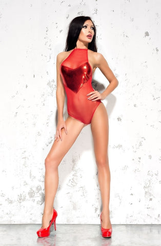 Me Seduce Emma Body (Red) - Bodys - Me Seduce - Charm and Lace Boutique